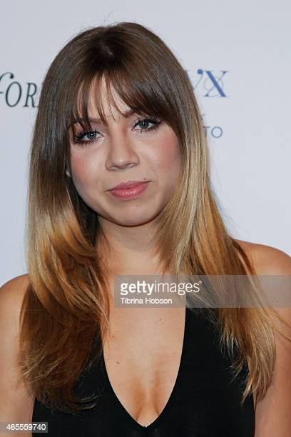 Jennette McCurdy attends OK Magazine's PreOscar event at The Argyle on February 19 2015 in Hollywood California