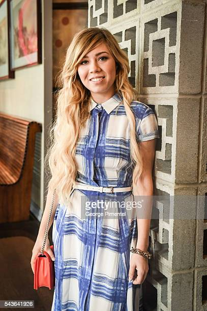 Jennette McCurdy Promotes City TV/ Netflix Series Between at Soho Metropolitan Hotel on June 29 2016 in Toronto Canada