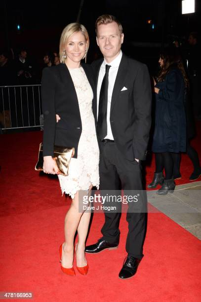 Jenni Falconer and James Midgley attend the 2014 British Academy Games Awards at Tobacco Docks on March 12 2014 in London England