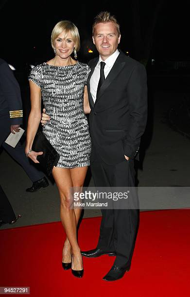 Jenni Falconer and James Midgley attend the Night of Heroes ceremony to honour British troops at Imperial War Museum on December 15 2009 in London...