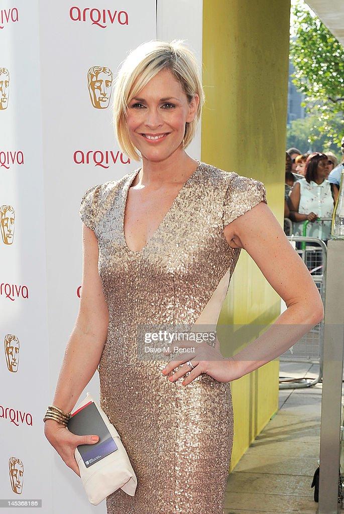 Jenni Falconer arrives at the Arqiva British Academy Television Awards 2012 at Royal Festival Hall on May 27, 2012 in London, England.
