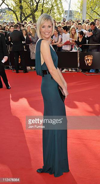 Jenni Falconer arrives at the British Academy Television Awards held at The Royal Festival Hall on April 26 2009 in London England