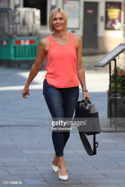 Jenni Falconer at Global Radio Studios on September 09 2020 in London England