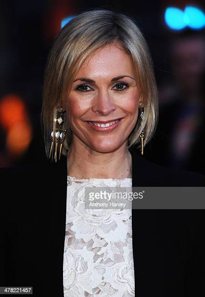 Jenni Falconer attends the 2014 British Academy Games Awards at Tobacco Dock on March 12 2014 in London England