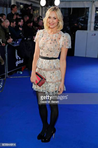Jenni Falconer attends The Global Awards 2018 at Eventim Apollo Hammersmith on March 1 2018 in London England