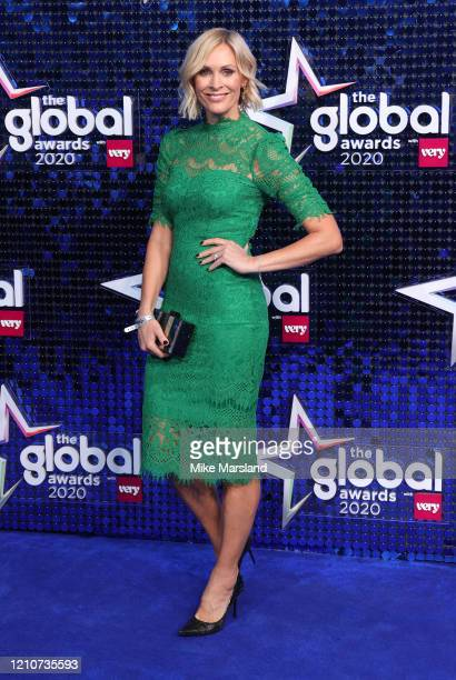 Jenni Falconer attends The Global Awards 2020 at Eventim Apollo, Hammersmith on March 05, 2020 in London, England.