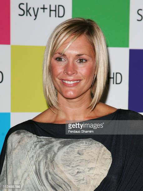 Jenni Falconer attends the launch of Sky HD Designer Box Collection at Il Bottaccio on August 14 2008 in London England