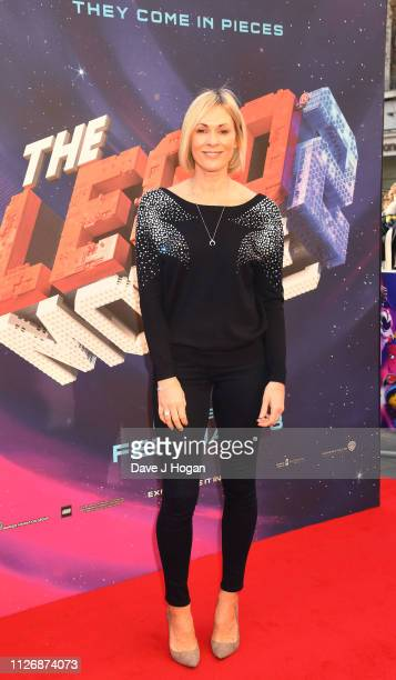 Jenni Falconer attends the multimedia screening of The Lego Movie 2 The Second Part at Cineworld Leicester Square on February 02 2019 in London...