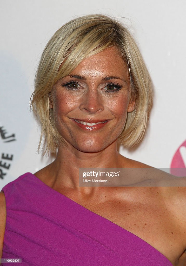 Jenni Falconer attends the Pre-Wimbledon Party at Kensington Roof Gardens on June 21, 2012 in London, England.
