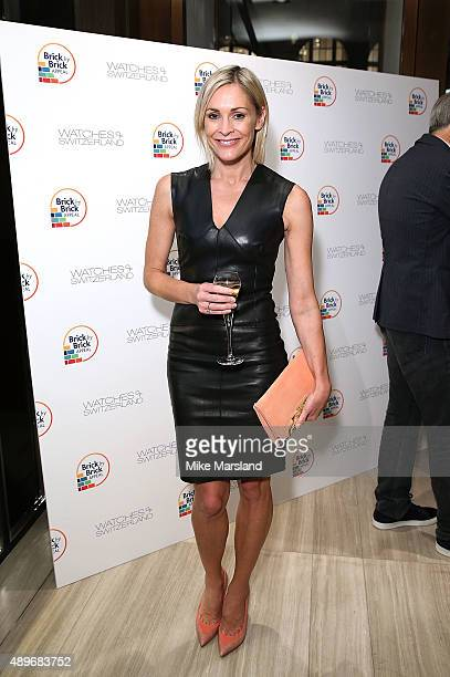 Jenni Falconer attends The Prince Princess Of Wales Hospice charity event at Watches of Switzerland on September 23 2015 in London United Kingdom