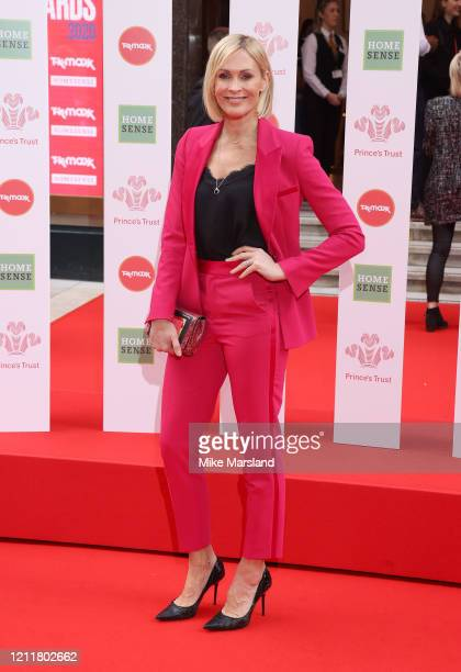 Jenni Falconer attends the Prince's Trust And TK Maxx & Homesense Awards at London Palladium on March 11, 2020 in London, England.