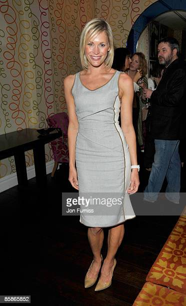 Jenni Falconer attends the VIP screening of 'I love You Man' at Soho Hotel on April 8 2009 in London England