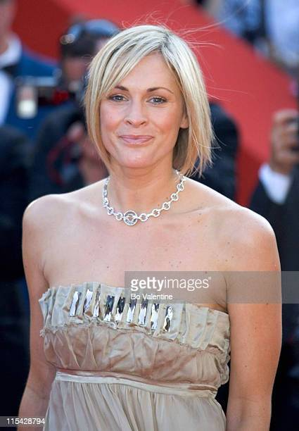 Jenni Falconer during 2006 Cannes Film Festival Opening Night Gala and World Premiere of The Da Vinci Code Arrivals at Palais du Festival in Cannes...