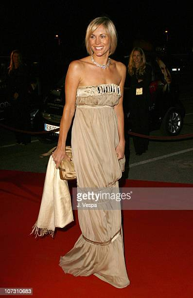 Jenni Falconer during 2006 Cannes Film Festival World Premiere of The Da Vinci Code After Party at Old Port in Cannes France