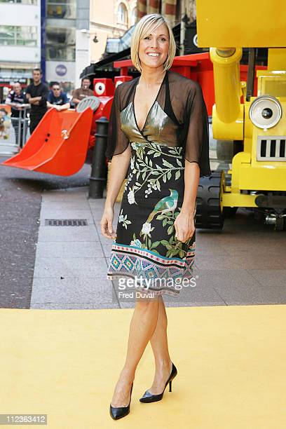 Jenni Falconer during Bob The Builder Built To Be Wild London Premiere Outside Arrivals at Odeon West End in London Great Britain