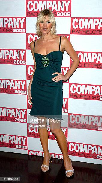 Jenni Falconer during Company Magazine's Bachelor of the Year Awards 2005 Arrivals Press Room at KOKO in London Great Britain