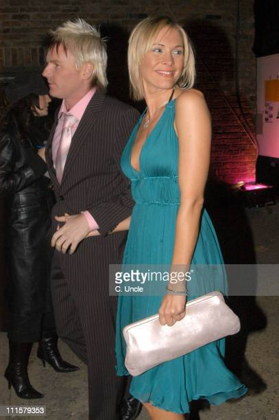 Jenni Falconer during Elle Style Awards 2005 After Party Arrivals in London Great Britain