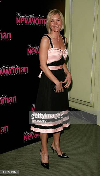 Jenni Falconer during New Woman 2006 Beauty Awards April 11 2006 at Dorchester Hotel in London Great Britain