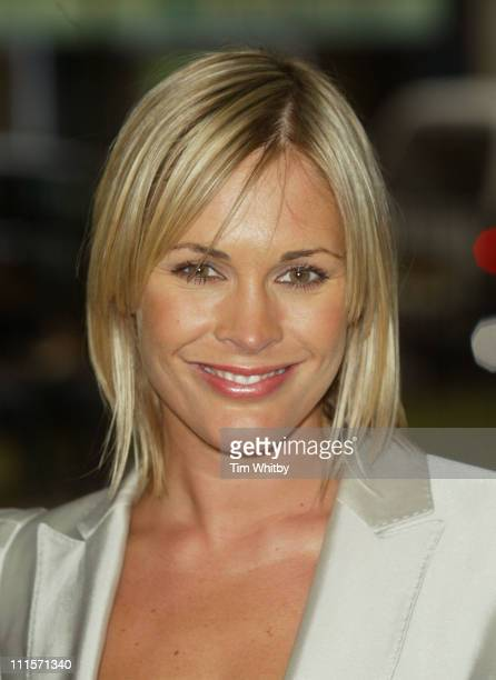 Jenni Falconer during The Berkeley Square Ball Outside Arrivals at Berkeley Square in London Great Britain