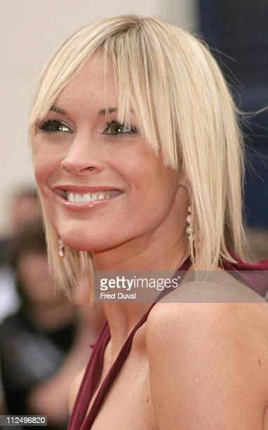 Jenni Falconer during The Pioneer British Academy Television Awards Outside Arrivals at Royal Theatre in London Great Britain