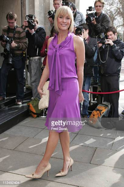 Jenni Falconer during TRIC Awards 2007 Outside Arrivals at Grosvenor House in London Great Britain
