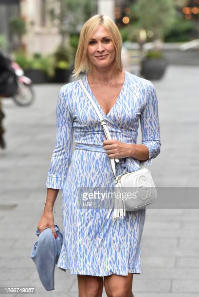 Jenni Falconer sighting on August 17 2020 in London England