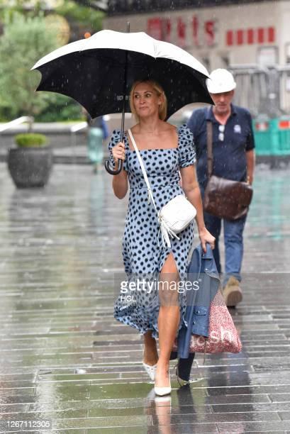 Jenni Falconer sighting on August 19 2020 in London England