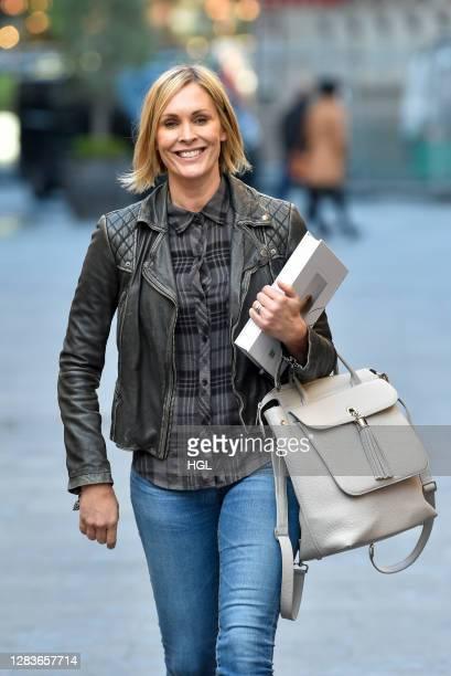 Jenni Falconer sighting on November 03, 2020 in London, England.