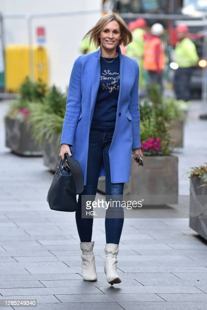 Jenni Falconer sighting on November 12, 2020 in London, England.