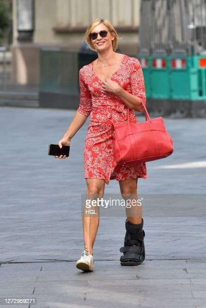 Jenni Falconer sighting on September 17 2020 in London England