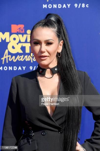 Jenni Farley attends the 2019 MTV Movie and TV Awards at Barker Hangar on June 15, 2019 in Santa Monica, California.