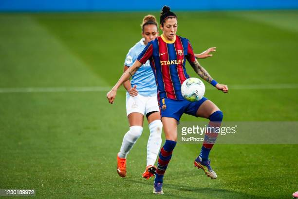 Jenni Hermoso of FC Barcelona during the UEFA Champions League Women match between PSV v FC Barcelona at the Johan Cruyff Stadium on December 16,...
