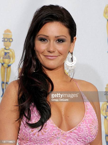 """Jenni """"JWOWW"""" Farley in the press room at the 2010 MTV Movie Awards at the Gibson Amphitheatre on June 6, 2010 in Universal City, California."""