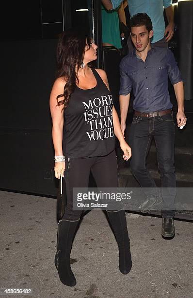 Jenni 'JWoww' Farley is sighted on November 8 2014 in Miami Beach Florida