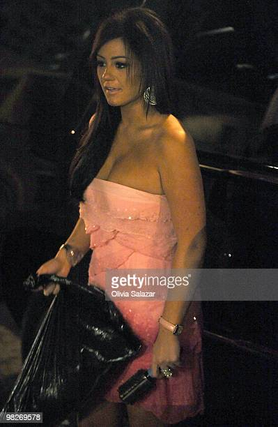 Jenni 'Jwoww' Farley is sighted on South Beach where 'The Jersey Shore' has begun filming on April 5 2010 in Miami Beach Florida