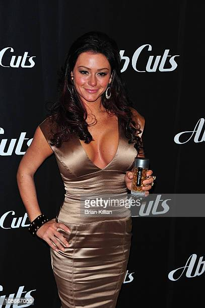 Jenni JWoww Farley promotes Ab Cuts by Revolution at the GNC Store Westfield Garden State Plaza on January 31 2011 in Paramus New Jersey
