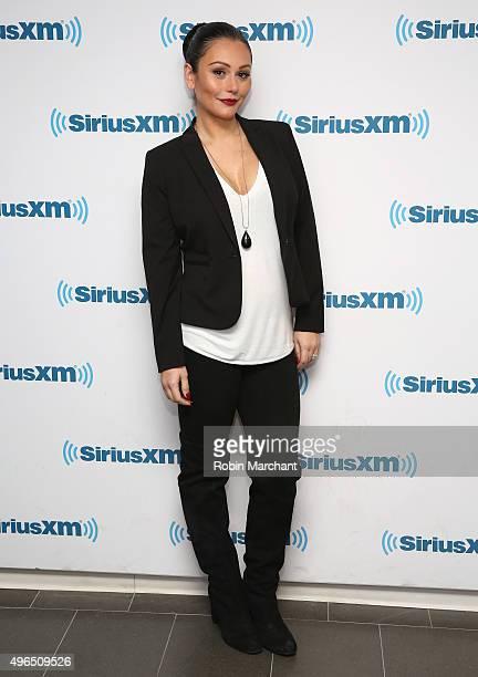 Jenni 'JWoww' Farley visits at SiriusXM Studios on November 10 2015 in New York City