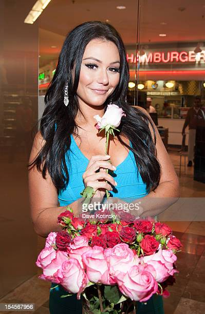 Jenni JWOWW Farley visits GNC Store Westfield Garden State Plaza on October 22 2012 in Paramus New Jersey