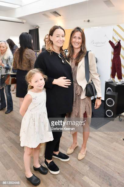 Jenni Kayne and Anna Getty attend Bonpoint Baby2Baby Celebrate At Au Fudge With Estee Stanley Kelly Sawyer Patricof And Norah Weinstein at Au Fudge...