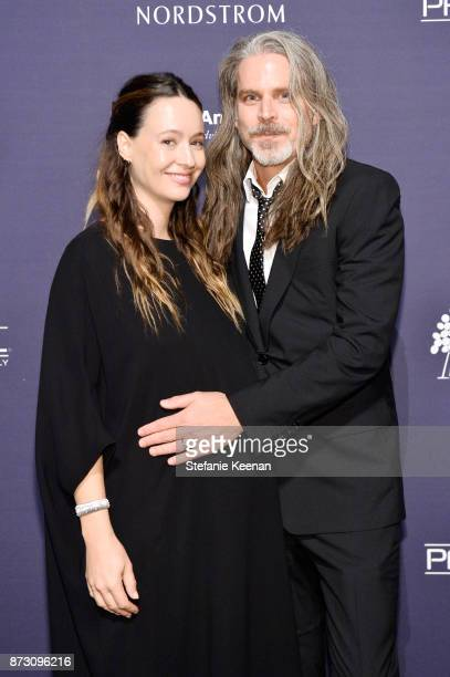 Jenni Kayne and Richard Ehrlich attend The 2017 Baby2Baby Gala presented by Paul Mitchell on November 11 2017 in Los Angeles California
