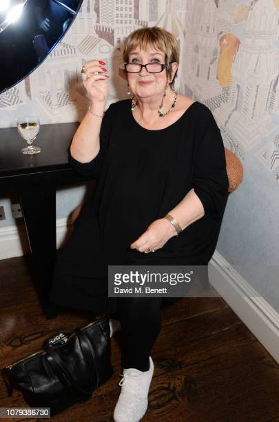 Jenni Murray attends a special screening of Stan Ollie at The Soho Hotel on January 8 2019 in London England