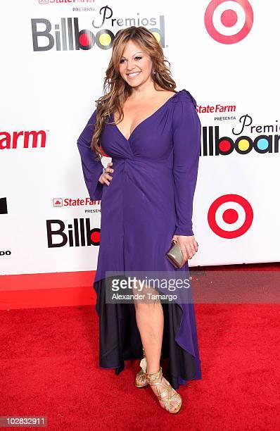 Jenni Rivera arrives at 2009 Billboard Latin Music Awards at Bank United Center on April 23 2009 in Miami
