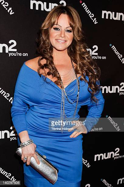 Jenni Rivera attends the premiere of mun2's I Love Jenni Season 2 at My House on March 1 2012 in Hollywood California