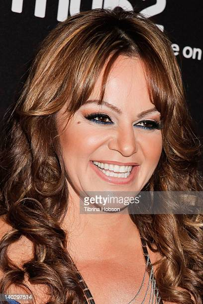 Jenni Rivera attends the premiere of mun2's 'I Love Jenni' Season 2 at My House on March 1 2012 in Hollywood California
