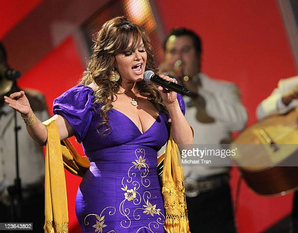 Jenni Rivera performs onstage at the 11th Annual Latin Grammy Awards at Mandalay Bay Events Center on November 11 2010 in Las Vegas Nevada