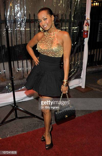 Jennia Fredrique attends the 10th Annual Heroes in the Struggle Gala at the Avalon on December 1 2010 in Hollywood California