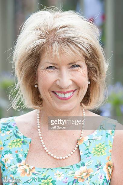 Jennie Bond attends Chelsea Flower Show press day at Royal Hospital Chelsea on May 23 2016 in London England