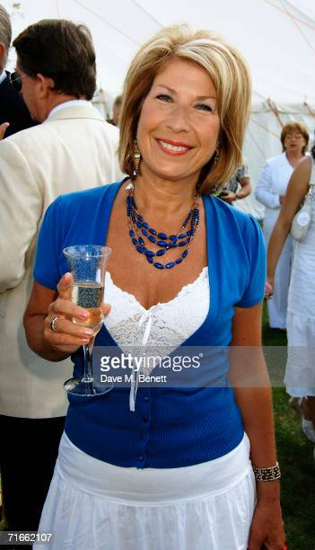 Jennie Bond attends the annual Cartier International Polo Day at the Cartier Marquee in Great Windsor Park on July 30 2006 in Egham England