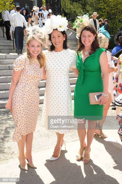 Jennie Coyne Christina Sethi and Allison Mignone attend 36th Annual Frederick Law Olmsted Awards Luncheon Central Park Conservancy at The...