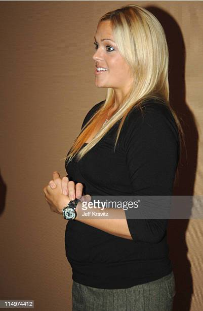 Jennie Finch during 2006 TCA MTV Networks Green Room at Ritz Carlton Hotel Pavilion Room in Pasadena California United States